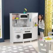 Grande cuisine en bois pour enfant avec sons et lumières
