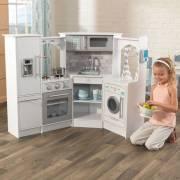 Cuisine enfant en bois Ultimate Corner Play Kitchen avec sons et lumières
