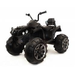 quad électrique noir raptor 12V
