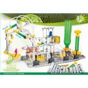 Grue pelleteuse pneumatique sur plateforme - 807 pièces à assembler