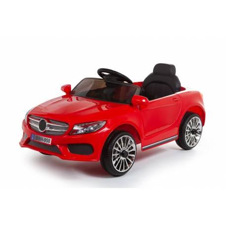voiture électrique berline Style C Class 12 V rouge - voiture électrique pour enfant