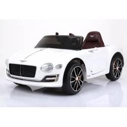 Voiture électrique pour enfant Bentley EXP 12 blanche
