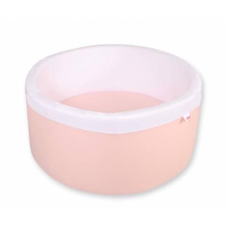 Piscine à balles ronde powder pink