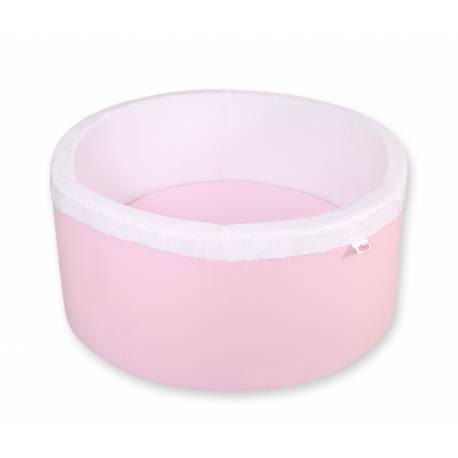 Piscine à balles ronde pink