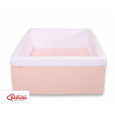 Piscine à balles carré powder pink