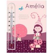 Cadre thermomètre bella personnalisable