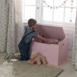 Coffre à jouet Austin rose