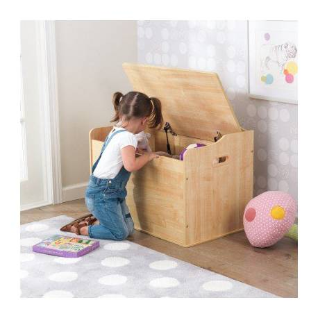 Coffre à jouets pour bébé Austin naturel - Chambre bébé