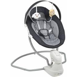 Balancelle pour bébé cuddly anthracite babygo