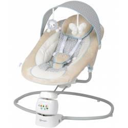 Balancelle pour bébé snuggly beige babygo