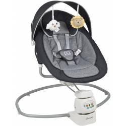 Balancelle pour bébé snuggly anthracite babygo