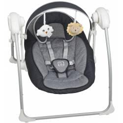 Balancelle pour bébé dandly anthracite babygo