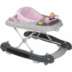 Trotteur pour bébé 4 en 1 beige