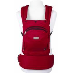 Porte bébé Cangoo rouge