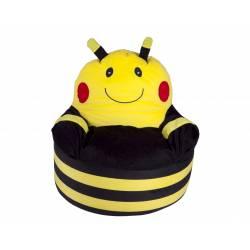 Fauteuil poire abeille