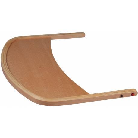 Plateau amovible en bois pour chaise haute family babygo