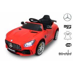 Voiture électrique pour enfant Mercedes Benz GTR rouge
