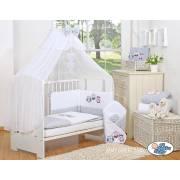 Parure de lit bébé hibou 120*60 - 8 coloris