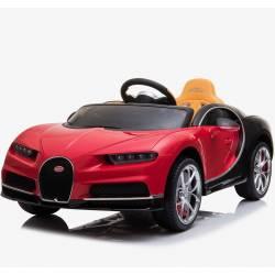 Voiture électrique Bugatti Chiron bleue pour enfant
