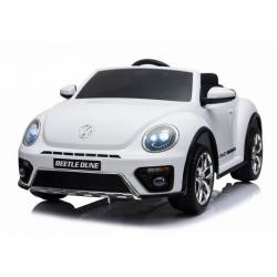 voiture électrique New Beetle 12 V blanche