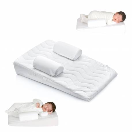 oreiller anti reflux avec câle bébé babyjem