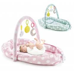 """Lit bébé """"between parents"""" avec jeux Babyjem - 3 coloris"""