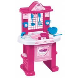 Cuisine pour enfant avec accessoires Unogiochi Princesse rose