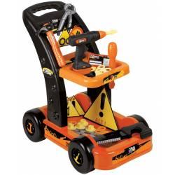 chariot de bricolage avec accessoires Unogiochi modèle Beta