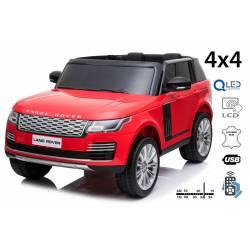 voiture électrique pour enfant Range Rover, siège cuir