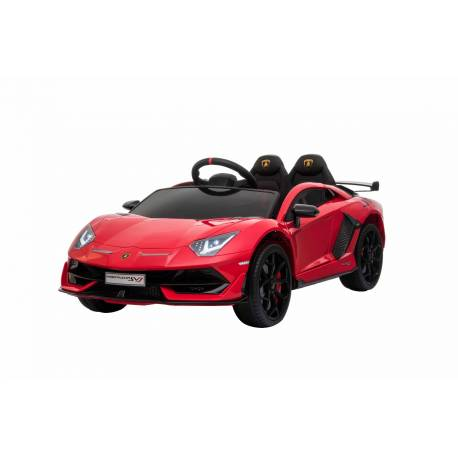 voiture électrique pour enfant Lamborghini aventador rouge
