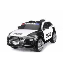 Voiture électrique pour enfant Audi Q5 police
