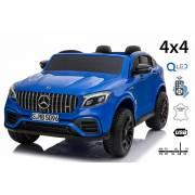 Voiture électrique pour enfant Mercedes AMG GLC bleue