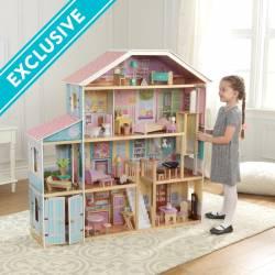 Maison de poupée Grand manoir en bois Kidkraft