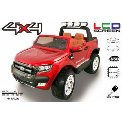 Voiture électrique FORD RANGER Wildtrike orange deux places bluetooth