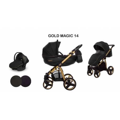 poussette trio mommy Gold Magic - 2 coloris