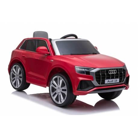 Voiture électrique pour enfant Audi Q8 rouge