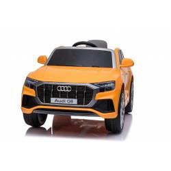 Voiture électrique pour enfant Audi Q8 jaune