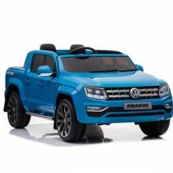 voiture électrique Amarok Volkswagen bleue