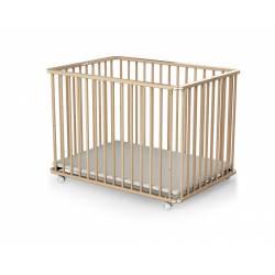 Parc d'activité pour bébé pliant rectangulaire hauteur réglable