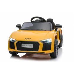 Voiture électrique pour enfant Audi R8 small jaune
