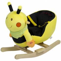 Balancelle en bois abeille