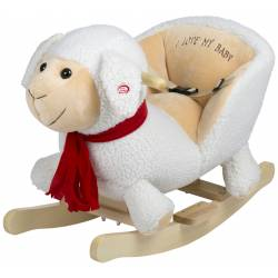 Bascule en bois Mouton babygo