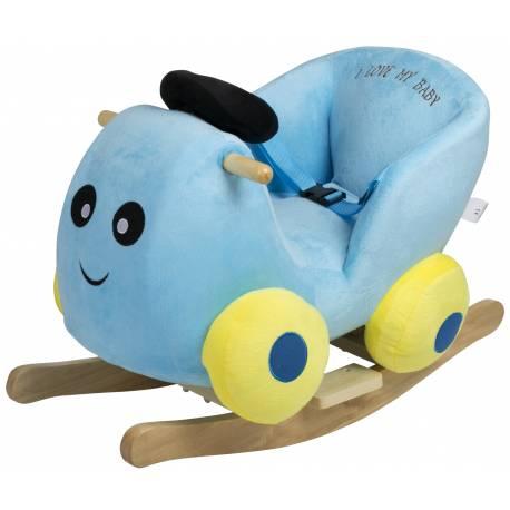Bascule en bois voiture babygo