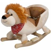 Bascule en bois Lion babygo