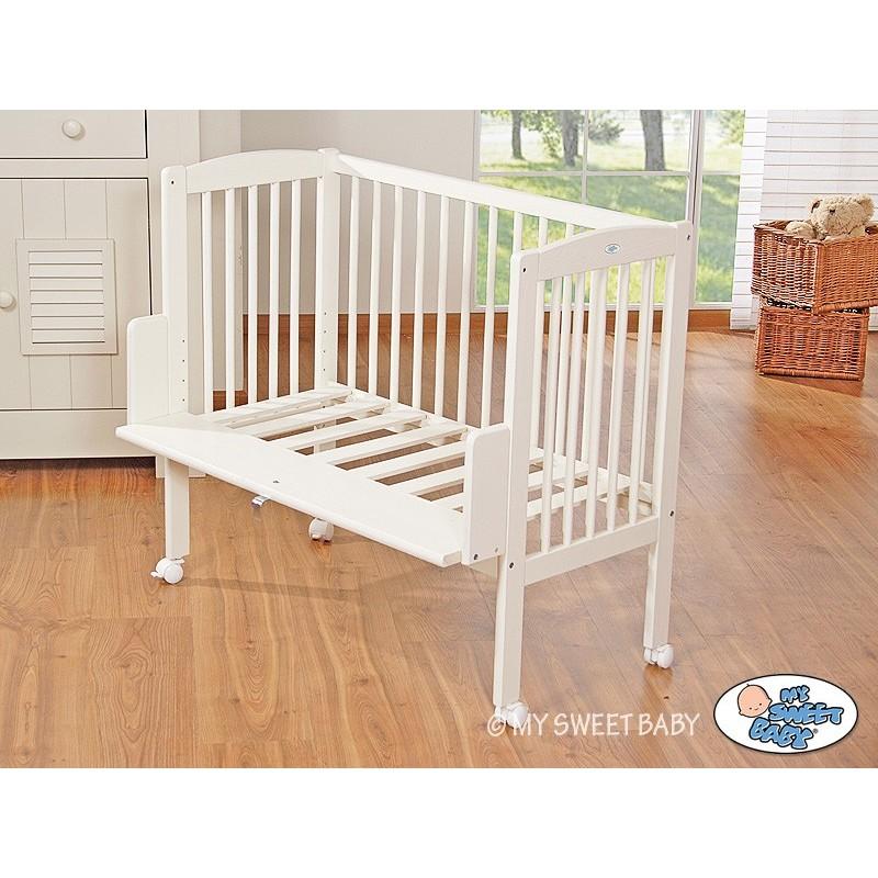 Lit cododo blanc pour b b lit pour enfant avec matelas - Fabriquer un lit de princesse ...