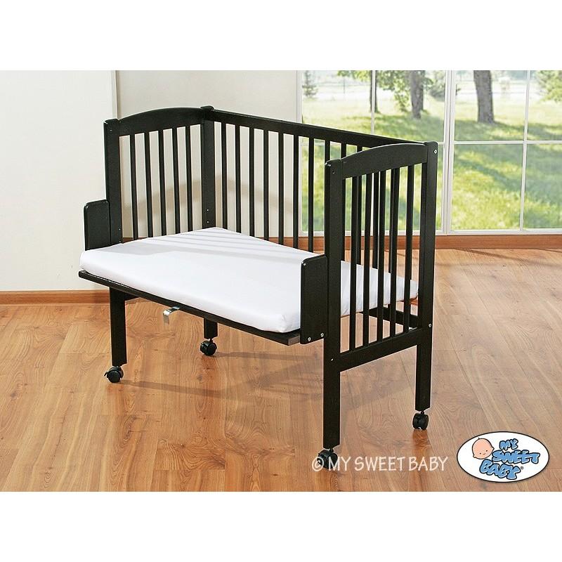 lit cododo brun pour b b lit pour enfant avec matelas. Black Bedroom Furniture Sets. Home Design Ideas