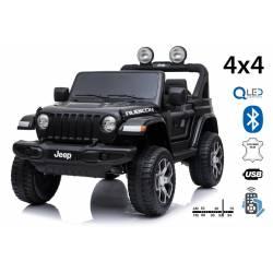 4X4 jeep Wrangler 24 V électrique noire deux places