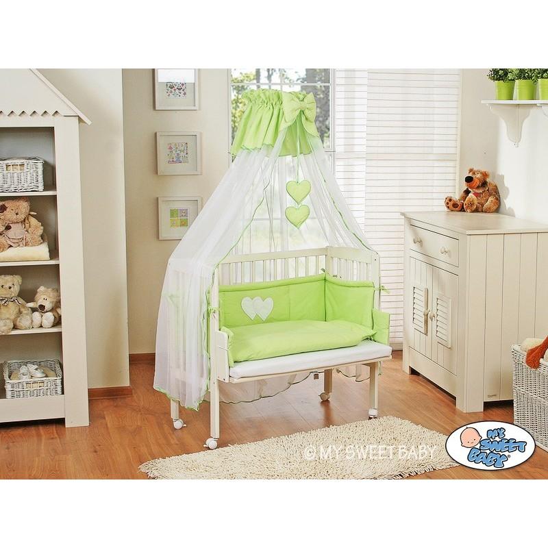 lit cododo pour b b parure c ur vert lit pour enfant. Black Bedroom Furniture Sets. Home Design Ideas