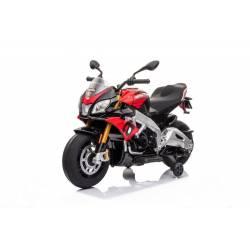 Moto électrique APRILIA Tuono V4 rouge - moto électrique pour enfant