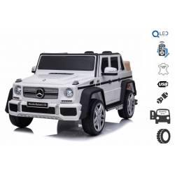 Voiture électrique pour enfant Mercedes Benz G Maybach blanche